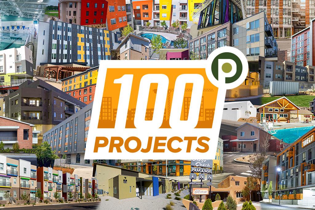 100 Projects Celebration